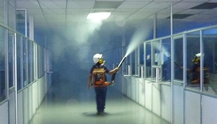 fumigación en empresa de Madrid