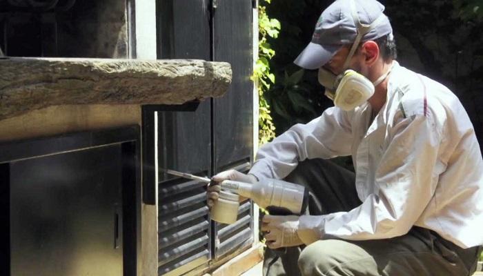 desinfección de plagas en el hogar