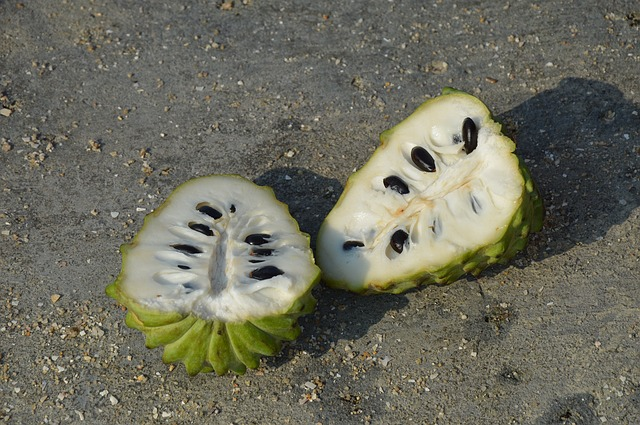 fruta exótica Chirimoya