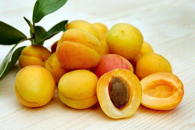fruto albaricoques