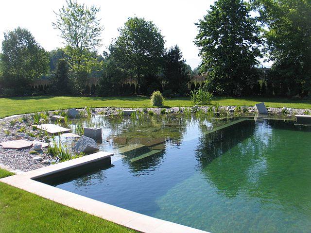 piscinas ecológicas con jardín