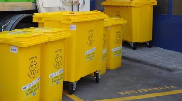 qué se recicla en el contenedor amarillo